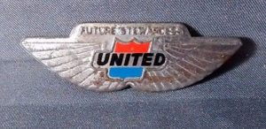 future-stewardess-wings-united-airlines-metal-pinback-aluminum-1960-s-vintage-d95793b35a8795a0ee4ce77c2f860389