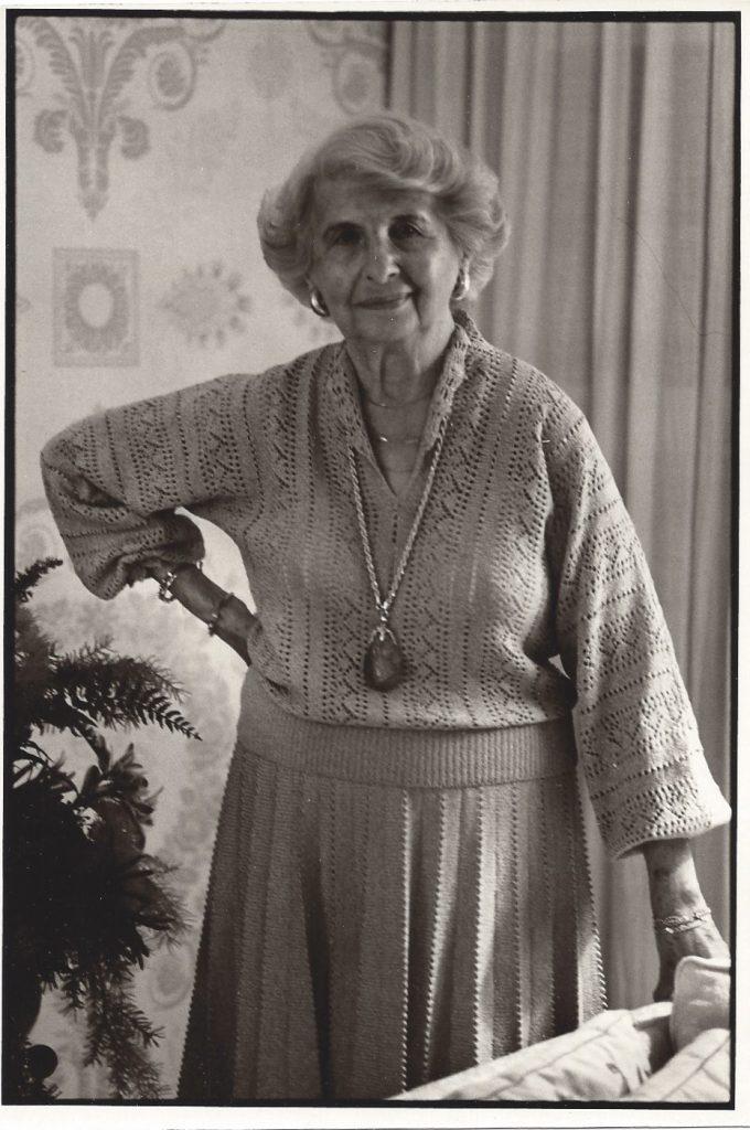 A grandma with attitude.