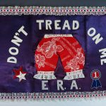 "Betty Ford's ""Bloomer Flag"""