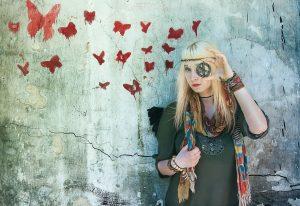 Hippie girl