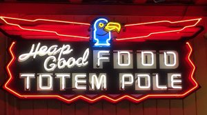 Totem Pole thunderbird