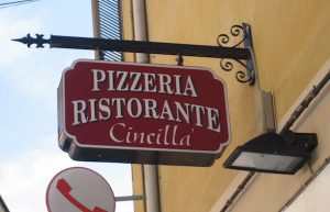 Pizzeria Cincilla in Alba, Italy