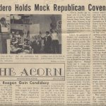 Dondero High School Mock Political Convention, 1968