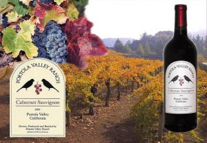Portola Valley Ranch wine label