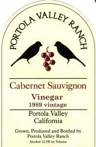 PVRanch vinegar label