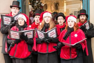 Victoria carolers via James Abbott on Flickr