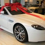 Gift wrapped Aston