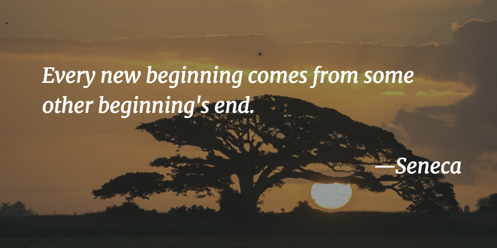 Seneca quote about new beginnings
